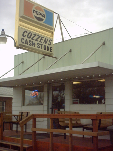 Byron, WY : Cozzens Cash Store on main street since 1950
