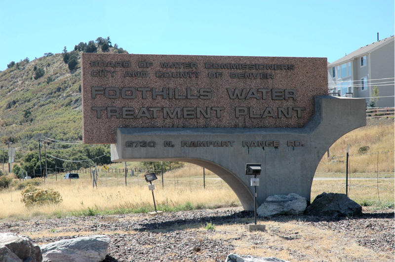 Roxborough Park, CO : Foothills Water Treatment