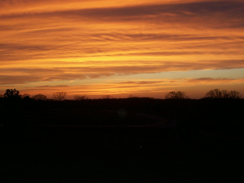 Nixa, MO : Nixa's amazing sunset sky