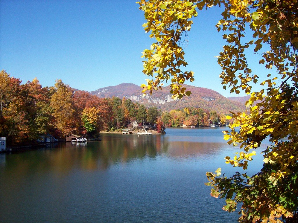 Lake Lure Nc Fall In Lake Lure Photo Picture Image
