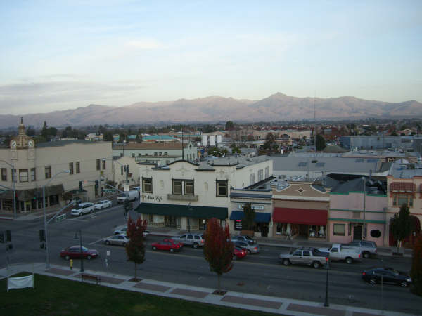 Hollister, CA : View From the top