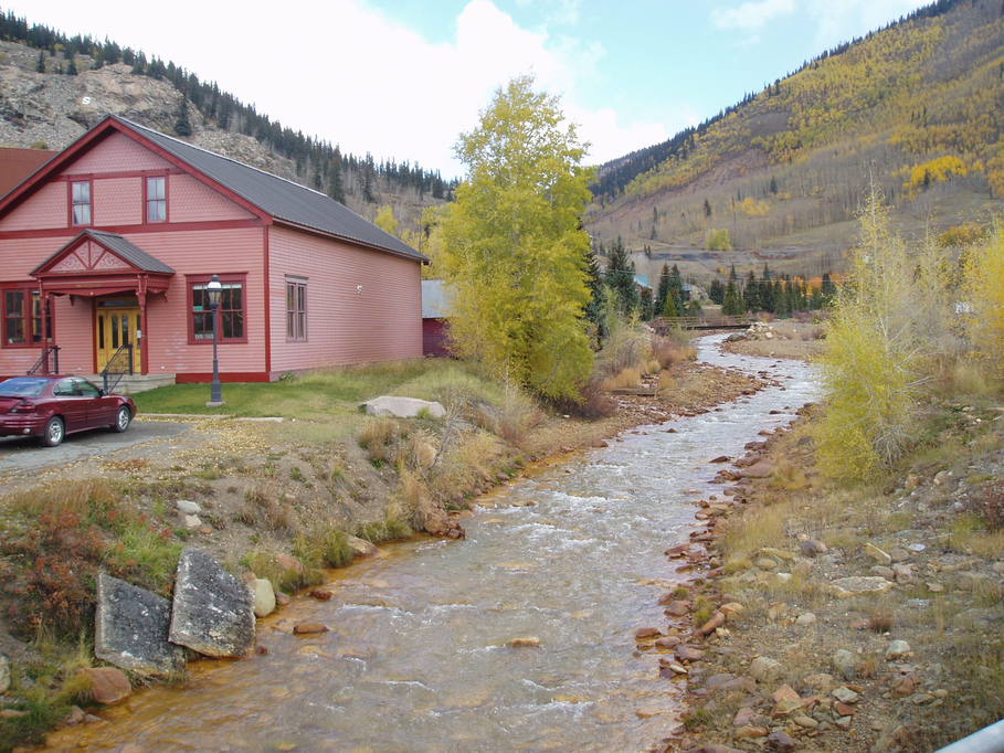 Silverton, CO : The bubbling river
