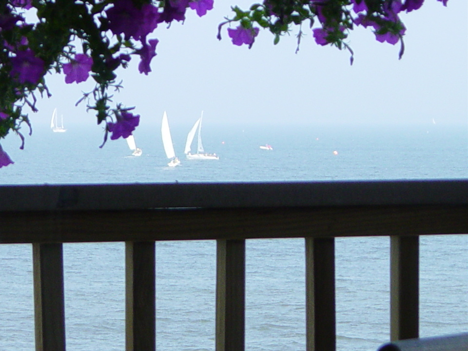 Annapolis, MD: Sailing My Mind Away From The Comfort Of My Deck On A Lazy Spring Afternoon