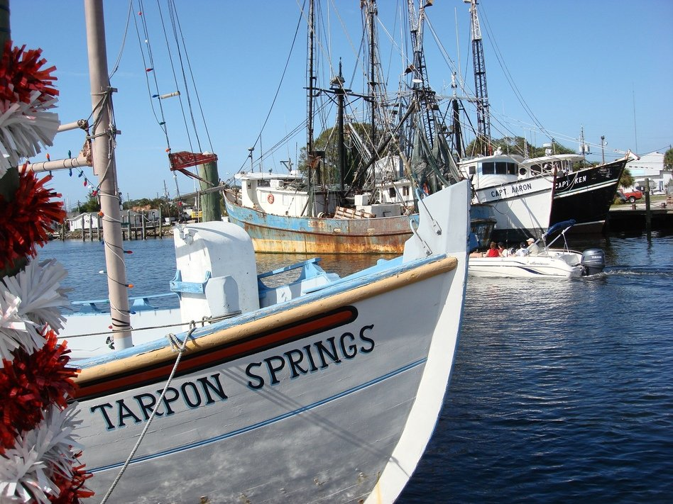 Tarpon Springs, FL : Tarpon Springs jan 6 2007