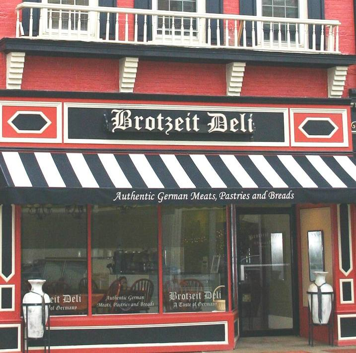 Lebanon, OH : Brotzeit Deli in historic downtown Lebanon