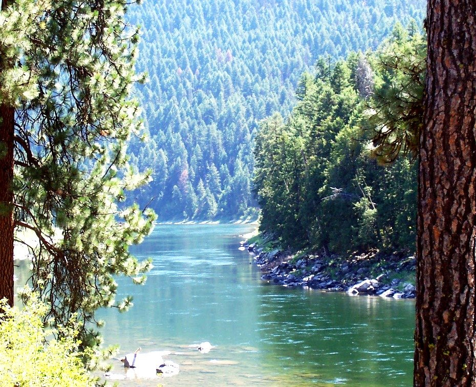 St Regis Mt Clark Fork River Near Saint Regis Montana Photo Picture Image Montana At