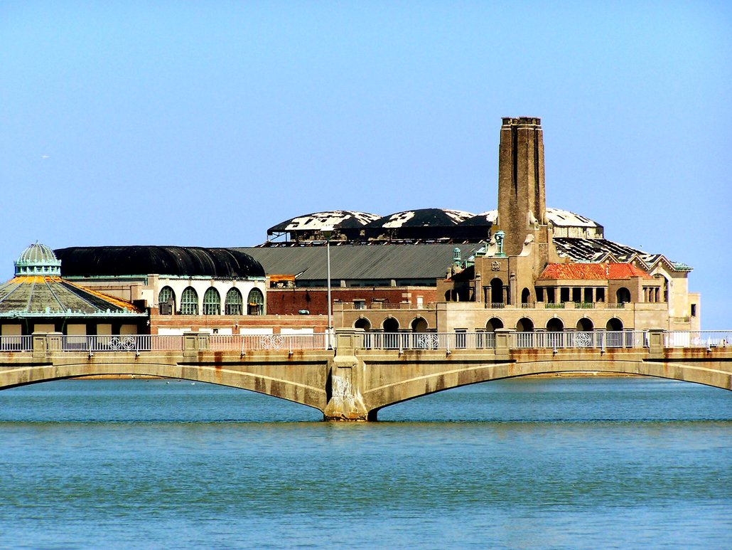 Asbury Park, NJ : A Picture of the old casino