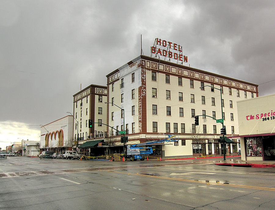 Douglas, AZ : Historic Douglas Gadsden Hotel - Winter 2007 Renovation