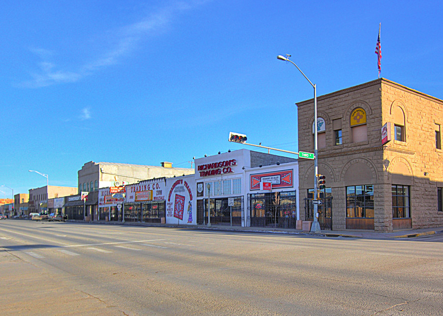 Gallup, NM : Route 66 in Gallup, New Mexico