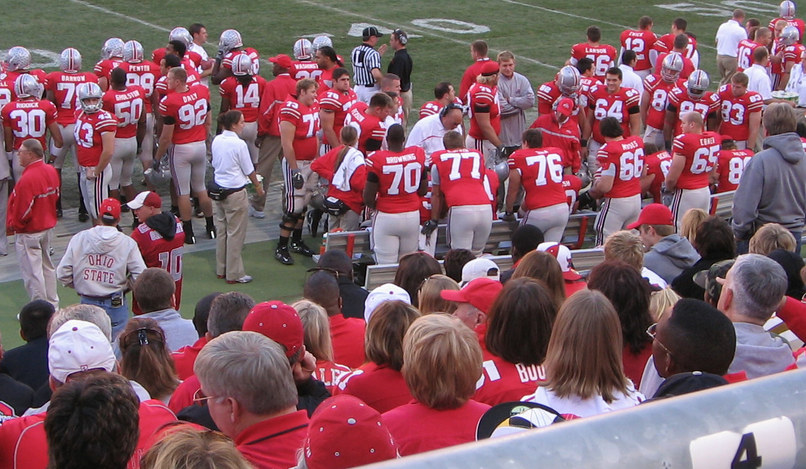 Columbus, OH : Ohio State Buckeyes on Game Day