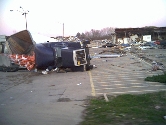 Dumas, AR: Dumas Arkansas hit by Tornado Feb 24, 2007