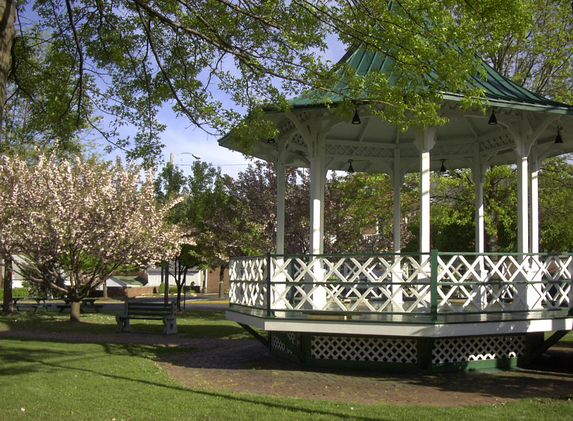 Millersburg, PA : Historic Gazebo in Market Square
