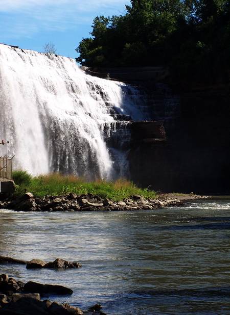 Rochester, NY : Lower Falls