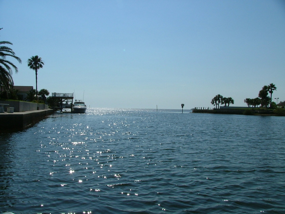 Hernando Beach, FL : Just another Beautiful Day in Hernando Beach Florida