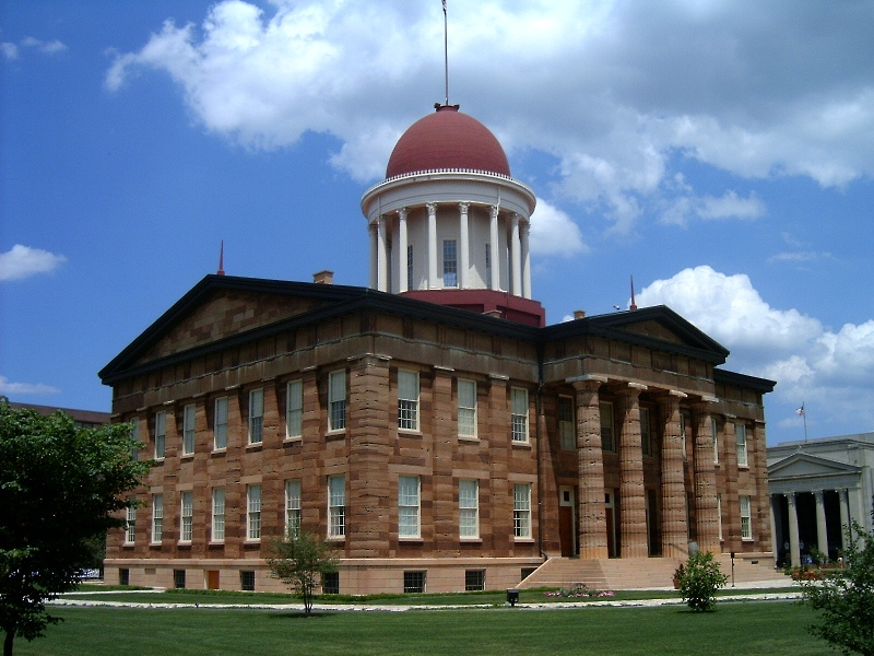 Springfield, IL : Springfield, Illinois: Old State Capitol