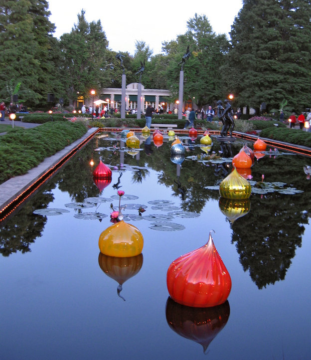 St Louis Mo Missouri Botanical Gardens Chihuly Exhibit 2006 Photo Picture Image Missouri