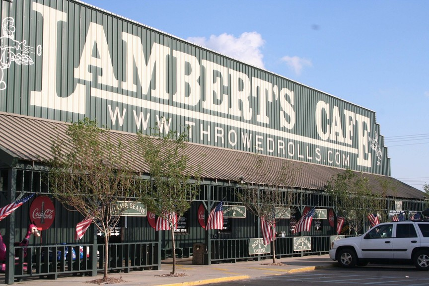 Foley, AL : Lambert's Cafe, home of the 