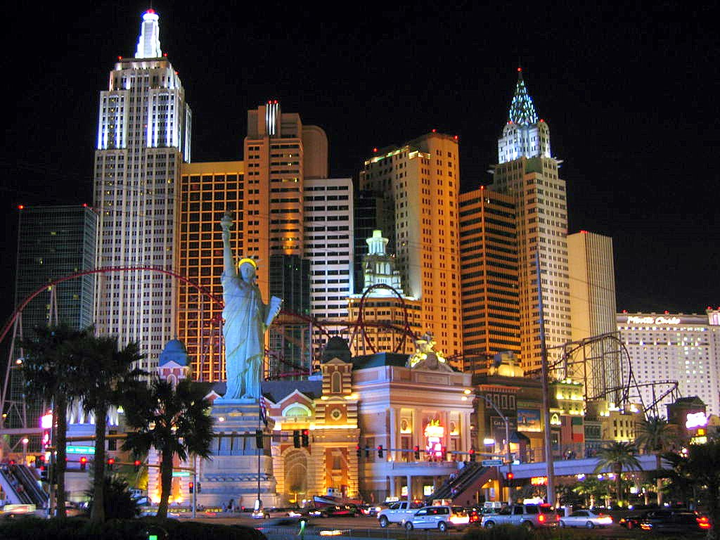 Las Vegas, NV : New York Hotel &amp; Casino, Las Vegas, NV