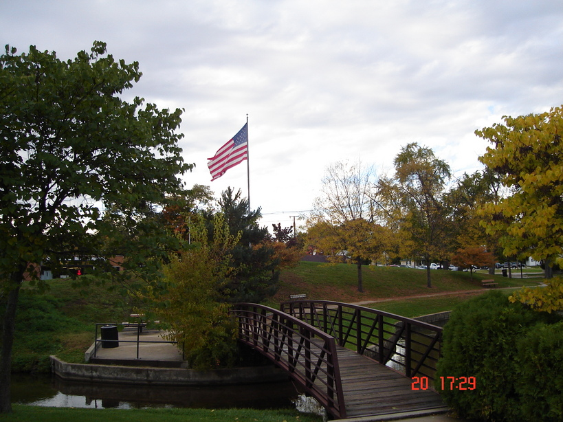 Buchanan, MI : the main park