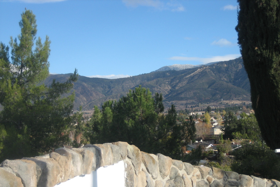 Yucaipa, CA : VIew from Veterans Park