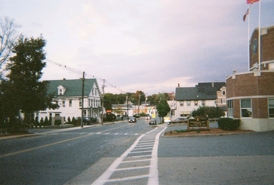 Hopkinton, MA: Hopkinton center (facing east)... September '06