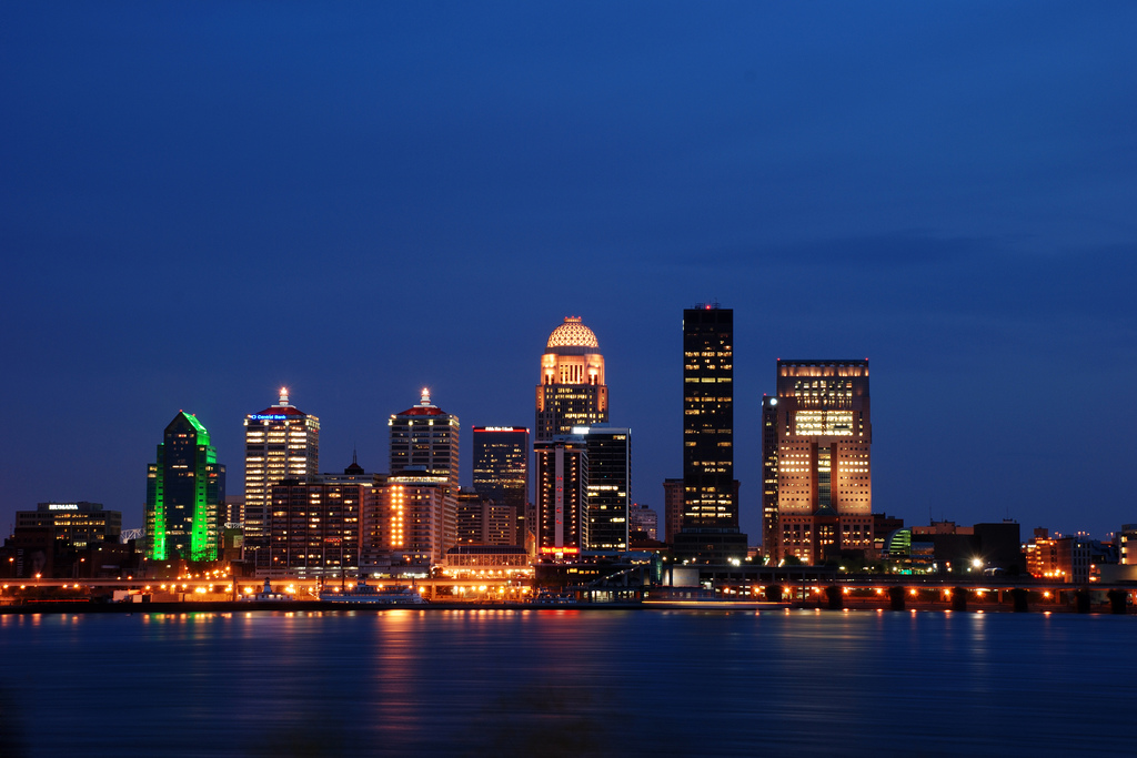 Louisville, KY : louisville @ night