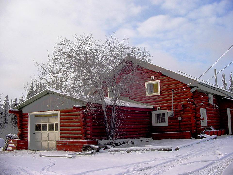 "Fort Yukon, AK: The ""Mission House"""