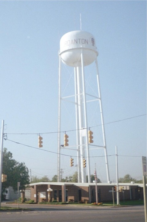 Jourdanton, TX : the water tower and city of Jourdanton, Texas