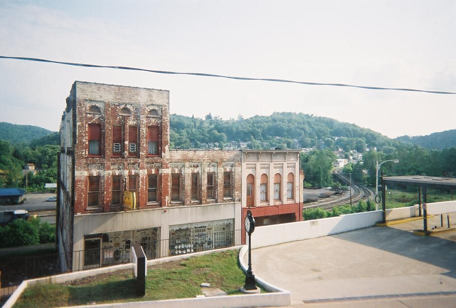 Grafton, WV : View From Downtown Grafton