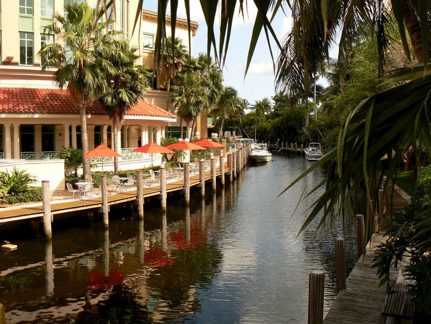 Fort Lauderdale, FL : Lunch on Las Olas