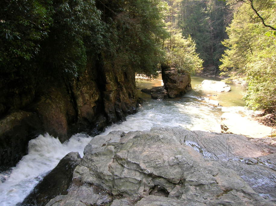 Walhalla, SC : Chauga River Narrows - near Walhalla, SC