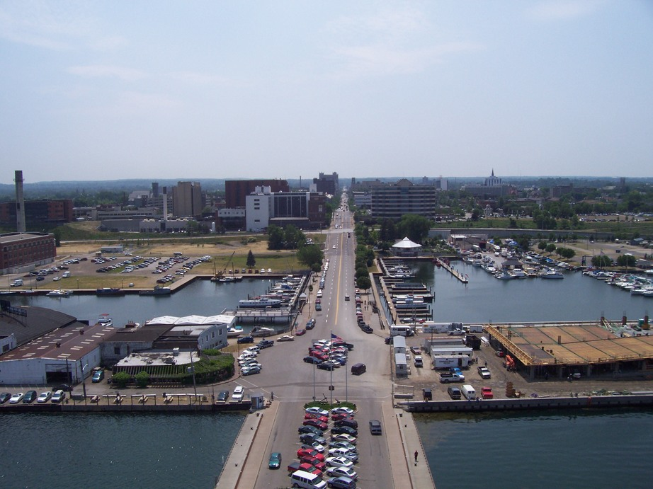 Erie Pa Downtown Erie From The Bicentennial Tower Photo Picture Image Pennsylvania At