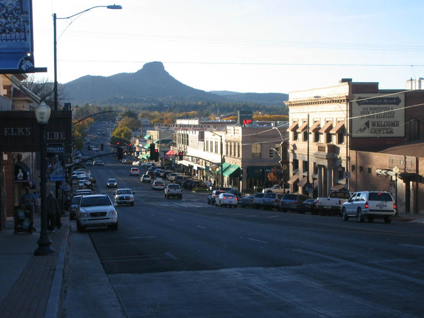 Prescott, AZ: Downtown Street View