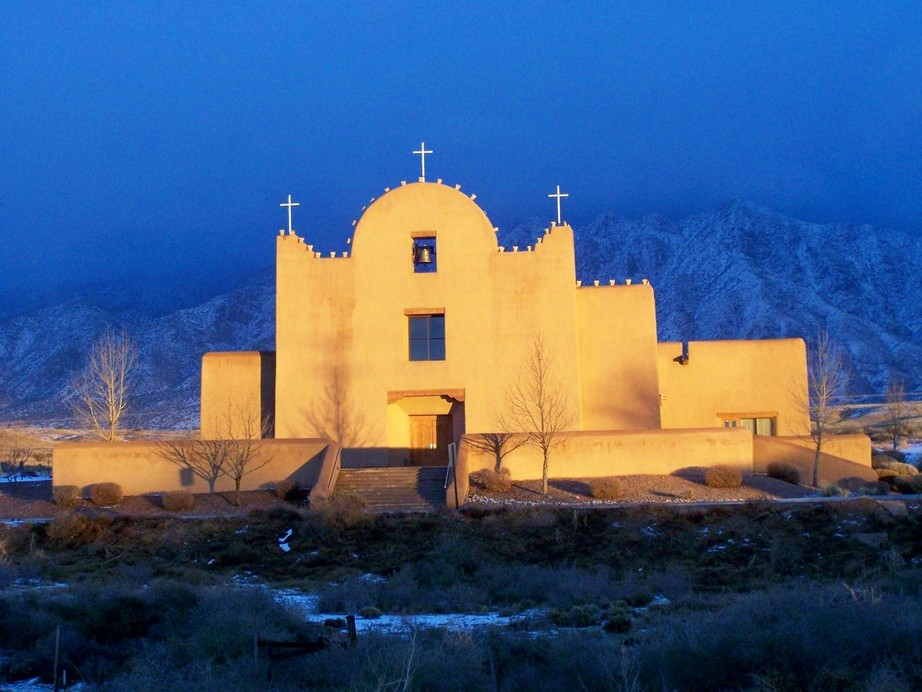 St. Anthony Catholic Church at Sandia Pueblo - Pueblos of New Mexico