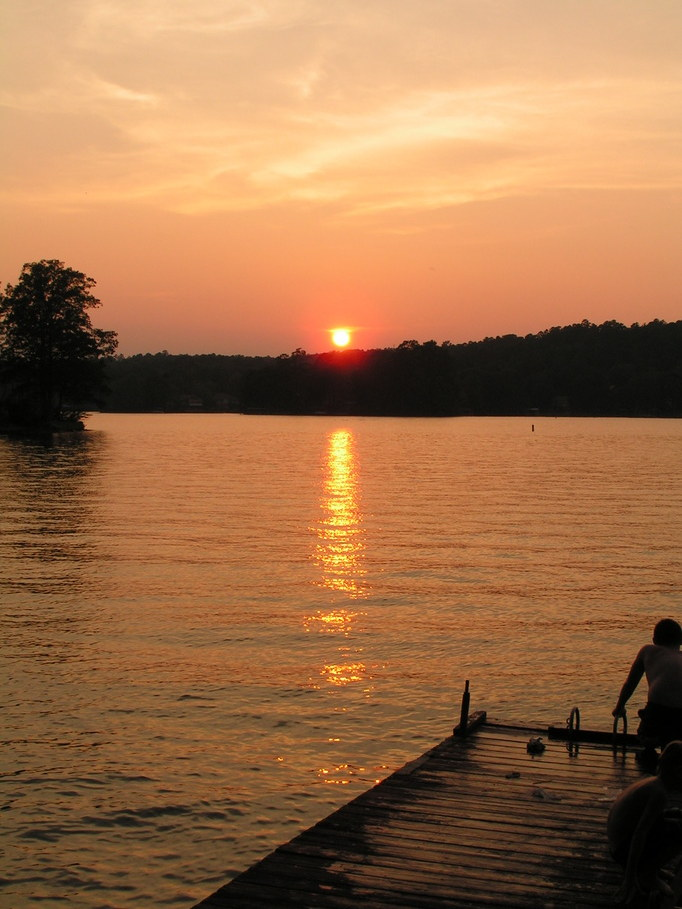 Hot Springs Village, AR: LAKE DESOTO SUNSET