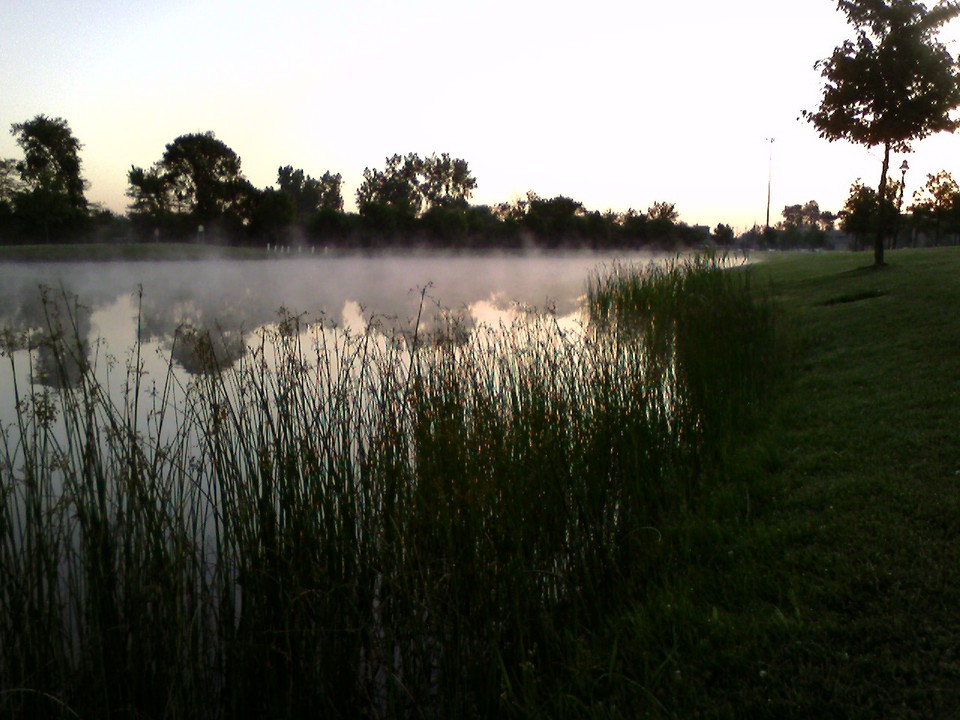 Canton, MI : Early morning at Heritage Park
