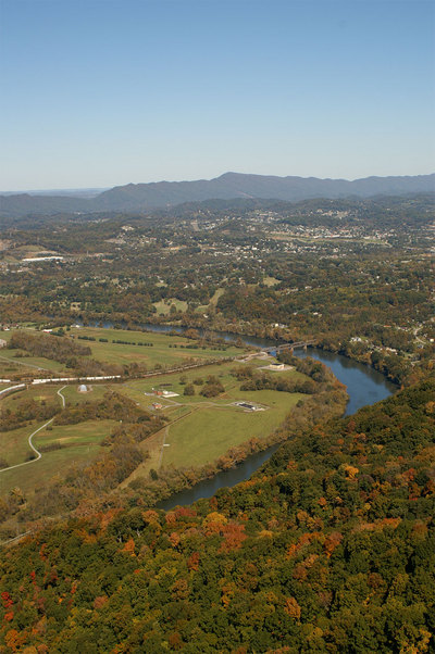 Kingsport, TN : Holston River from Bays Mountain