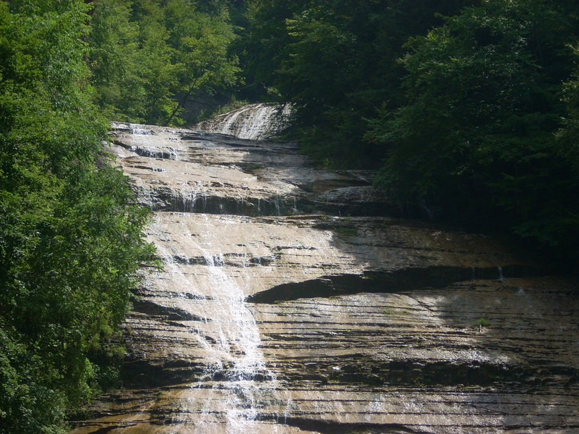 Dryden, NY : Water Fall @ ButterMilk Park