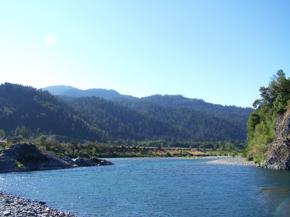 Willow Creek, CA : Trinity River