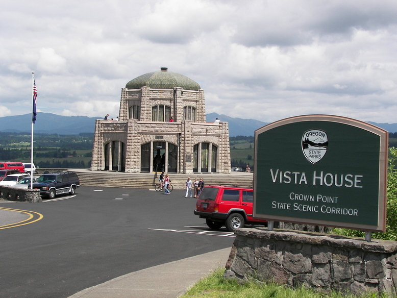 Corbett, OR : Vista House, Corbett, OR