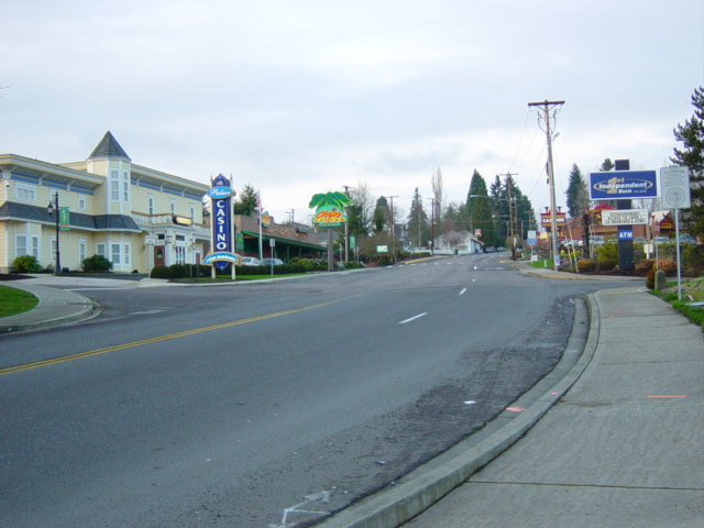 La Center, WA : City Center of Casino District