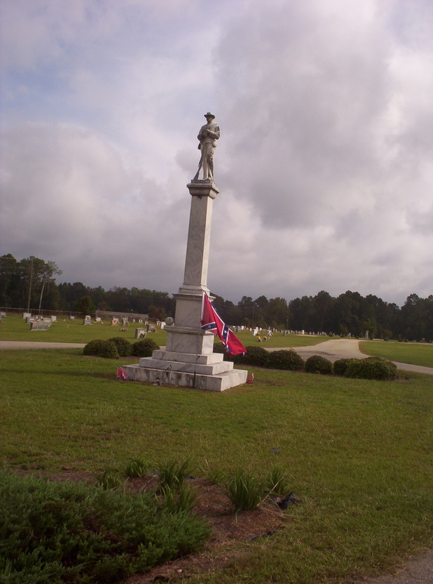 Sylvania, GA : Memorial to Confederate Soldiers