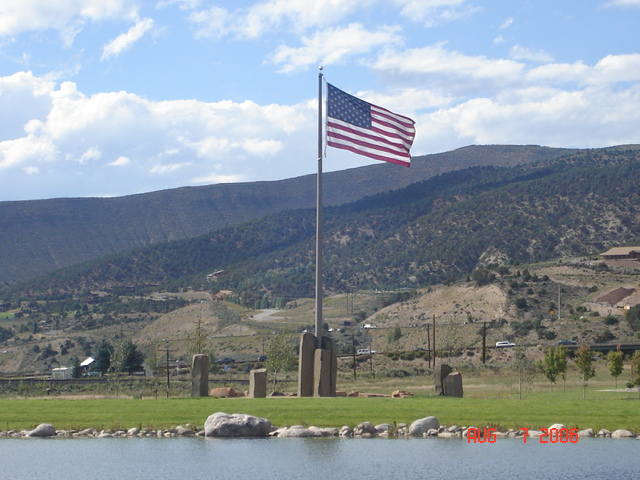 Edwards, CO: Freedom Park and Veterans & EMS Memorial
