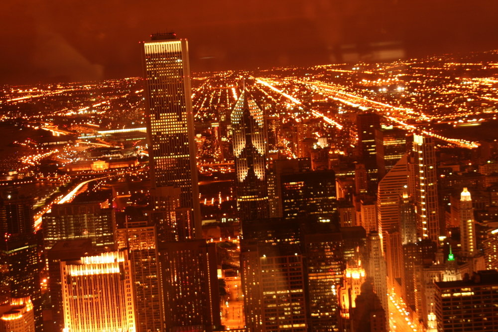Chicago Il Night Chicago Photo Picture Image Illinois At City Data Com