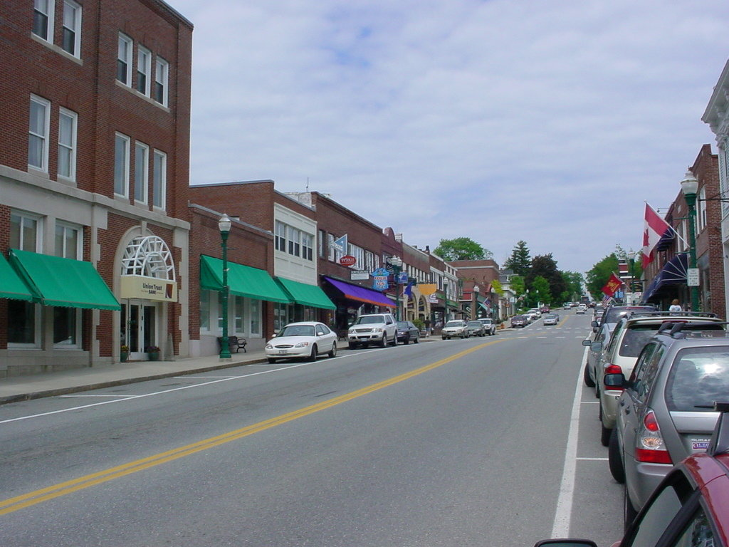 Ellsworth, ME : Main Street, Ellsworth