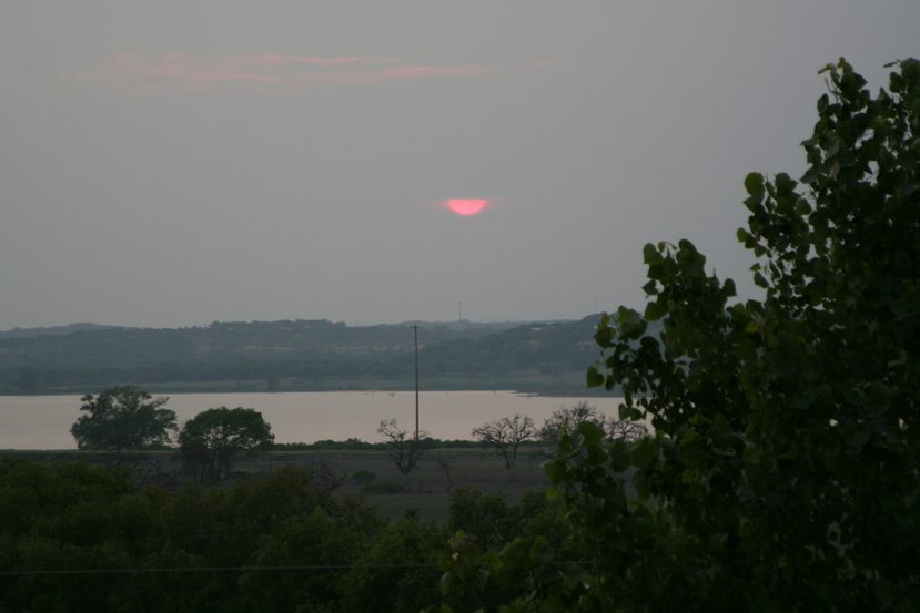 Canyon Lake, TX : Canyon Lake at Sunset