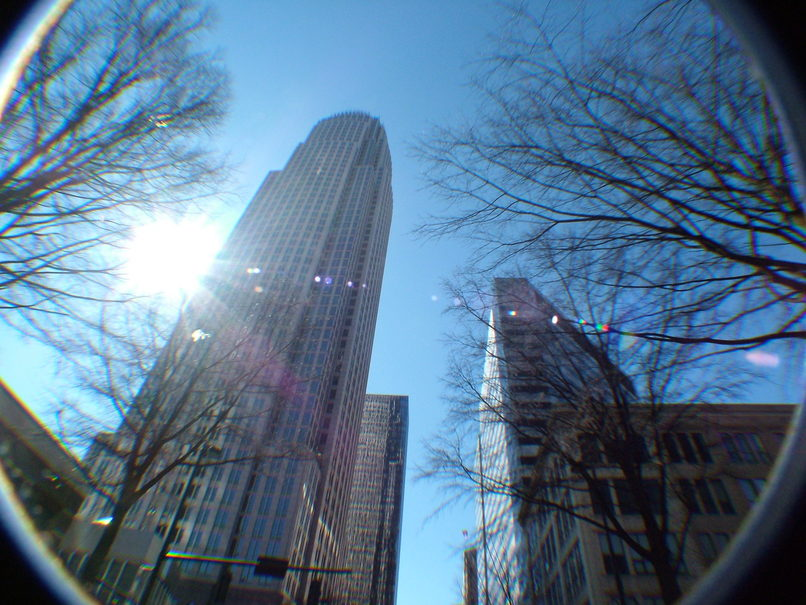 Charlotte, NC : Downtown in February