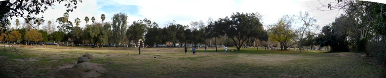 Escondido, CA : Escondido, CA. Kit Carson park, New Year's Day 2008.