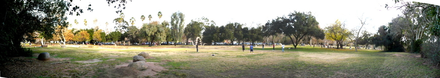 Escondido, CA: Escondido, CA. Kit Carson Park. January 2, 2008