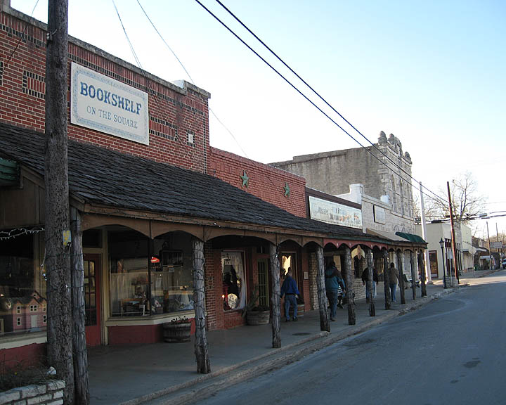 Glen Rose, TX : East side of town Square, Glen Rose, TX
